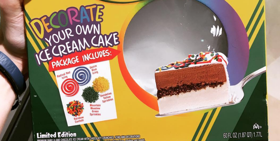 Crayolas Decorate Your Own Ice Cream Cake Is Perfect For Kids
