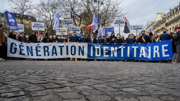 Le groupe d'extrême droite Génération identitaire dissous en Conseil des ministres, annonce Gérald Darmanin