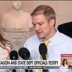 Reps. Jim Jordan, Elise Stefanik respond to Gordon Sondland's public impeachment testimony