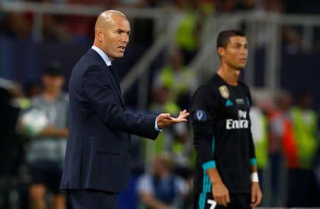 El dilema de Zidane tras el éxito en la Supercopa