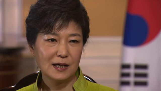 S. Korean President Park on use of force against N. Korea