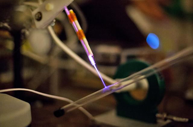 Portable 'cold plasma' wand prototype could destroy germs in seconds