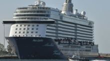 Cruise ship passengers have follow-up virus testing at Greek port
