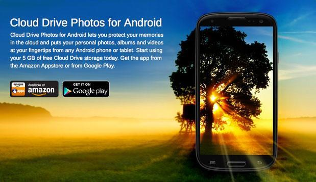 Amazon Cloud Drive Photos app for Android now works for videos, too