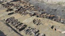 Encuentran más de 1.500 huesos humanos en una tumba histórica de Osaka