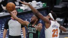Kemba Walker returns, but Knicks blow out Celtics 105-75