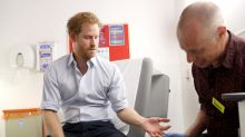 HIV testing should be seen as routine as protecting yourself against flu, Prince Harry says