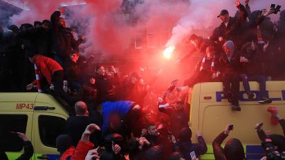 Roma fans arrested for attempted murder