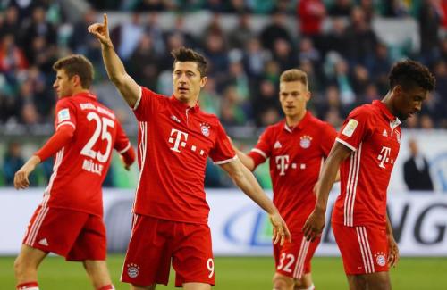 Le Bayern sacré champion d'Allemagne