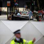 Car hits pedestrians at parliament in suspected terrorist attack