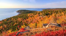 Châteaux, whales and autumn colours on a spectacular cruise from New England to Canada