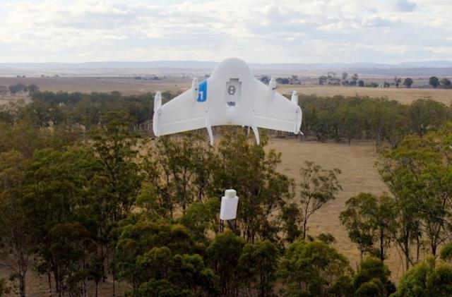 Google shows off 'Project Wing' delivery drones