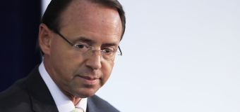 What will Trump do with Rod Rosenstein?