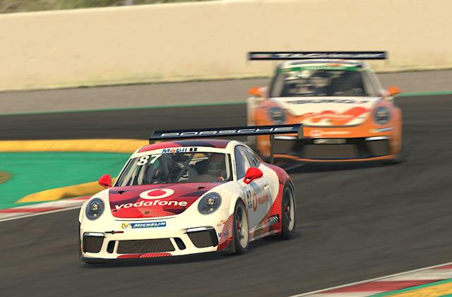 Porsche's virtual race series starts tomorrow with pro drivers at the wheel