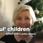 British man pays tribute to his 'talented and thoughtful' children killed in terror attack
