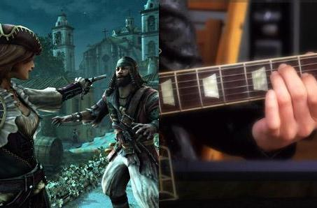 Assassin's Creed 4, Rocksmith 2014 half-off on Amazon today