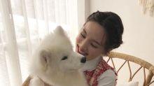 TWICE成員林娜璉SNS發與寵物犬合影