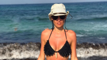 ¿Muy flaca? Las fotos de Pampita tomando sol en Ibiza que despertaron preocupación