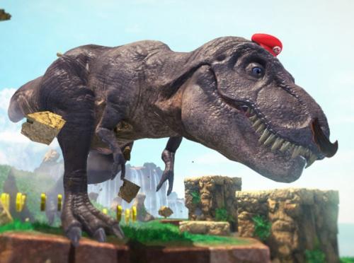 Super Mario T-Rex.