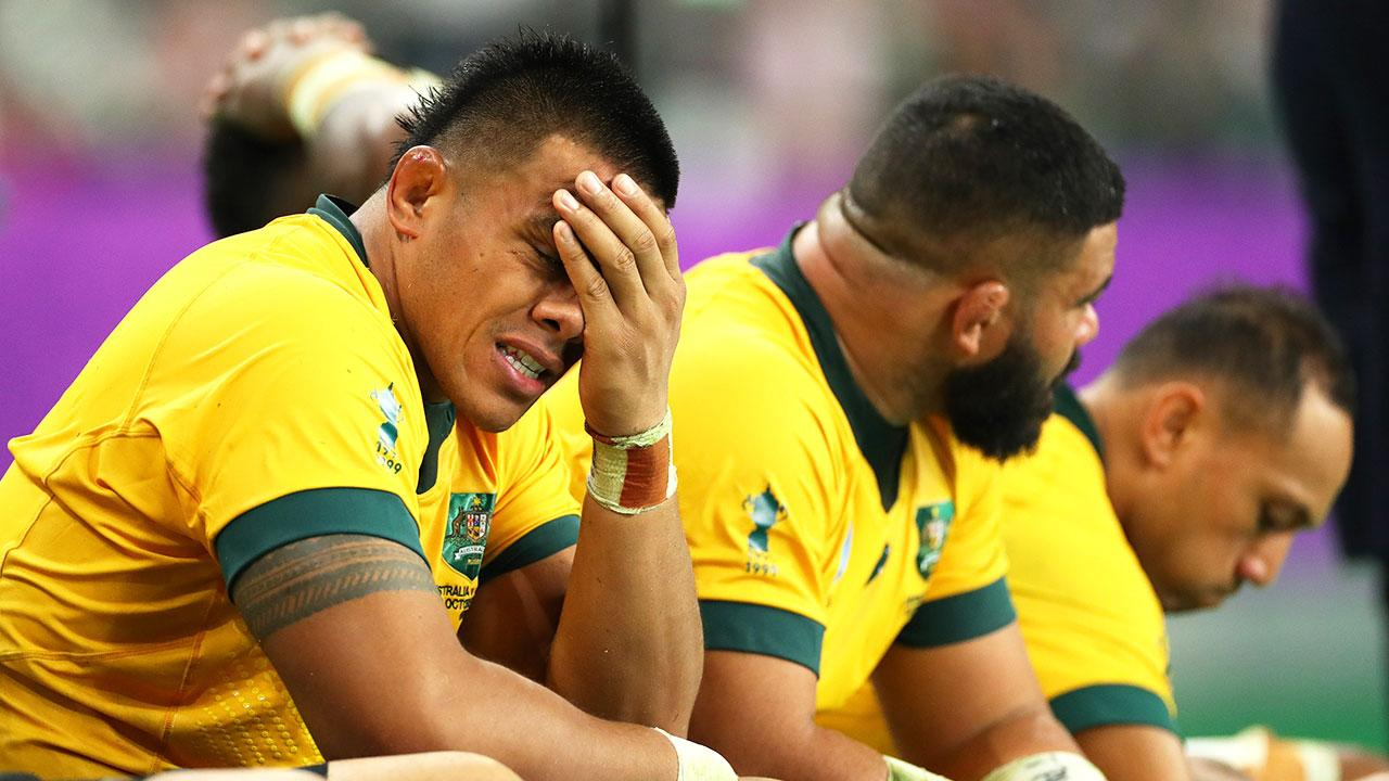 'Never thought I'd see this': Wallabies suffer unprecedented blow