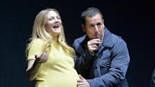 'Godzilla' Makes a Very Pregnant Drew Barrymore Cry