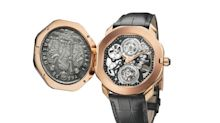 Bulgari celebrates ancient coins as old as 337AD with its new Octo Romana Monete watch
