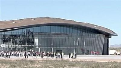 Spaceport America Runway, Terminal Completed