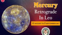 Mercury Retrograde In Leo 2017: Will The Luck Be In Your Favour?
