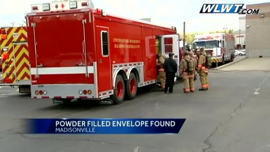 White powder scare at local business