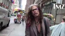 Steven Tyler sends support to Aretha Franklin