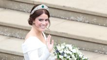 Princess Eugenie wore tiara never worn by a member of royal family on her wedding day
