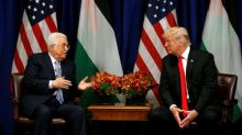Palestinian President Abbas says peace closer with Trump engaged