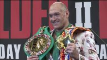 Fury pummels Wilder to claim WBC heavyweight title