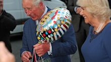 Queen's touching tribute to son Charles at his 70th birthday party