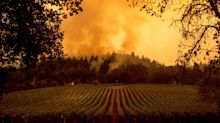New wave of wildfires surges north of San Francisco