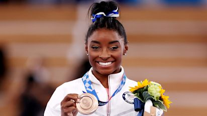 Biles reveals secret gym used to train in Tokyo