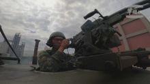 Taiwan flexes military might amid China tensions