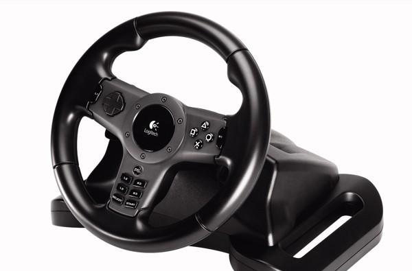 Logitech introduces PS3 Driving Force wireless steering wheel