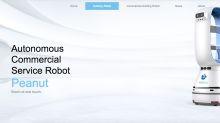 Peanut, el robot que atiende a las personas en cuarentena por el coronavirus en un hotel chino