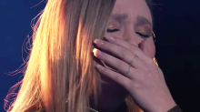 'You can share your grief with America': 'Voice' contestant Marybeth Byrd breaks down during tearful dedication to late grandfather