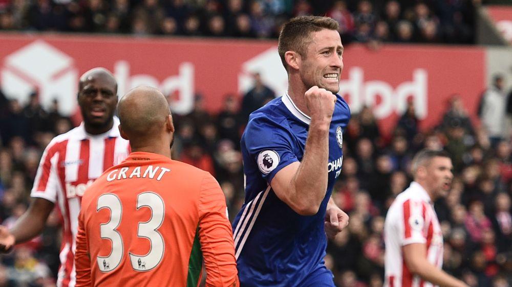 Stoke City-Chelsea 1-2: Decisivo Cahill, Conte non si ferma