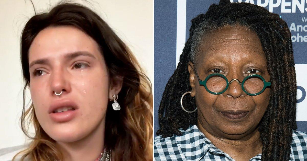 Bella Thorne criticises Whoopi Goldberg for disgusting
