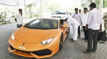 BJP MLA grabs attention as he drives in a Lamborghini during session