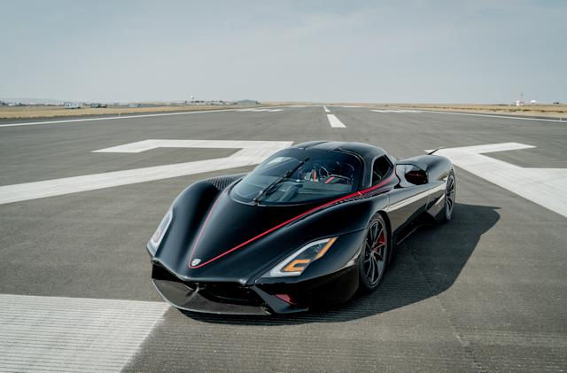 The SSC Tuatara has broken 330MPH and shattered a world speed record