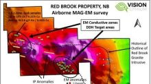 Vision Lithium Announces Mag-EM Survey Results Showing Large EM Conductor Target Areas