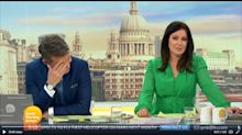 GMB's Ben Shephard blurts out 'nipples' while discussing Susanna Reid's dress