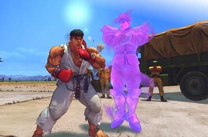 New Street Fighter IV screens punch out classic bosses