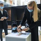 Centre-right ahead in Lithuania vote overshadowed by pandemic