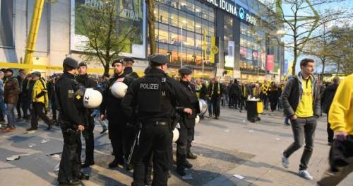 Foot - C1 - Dortmund - Explosions à Dortmund : quand le foot est touché