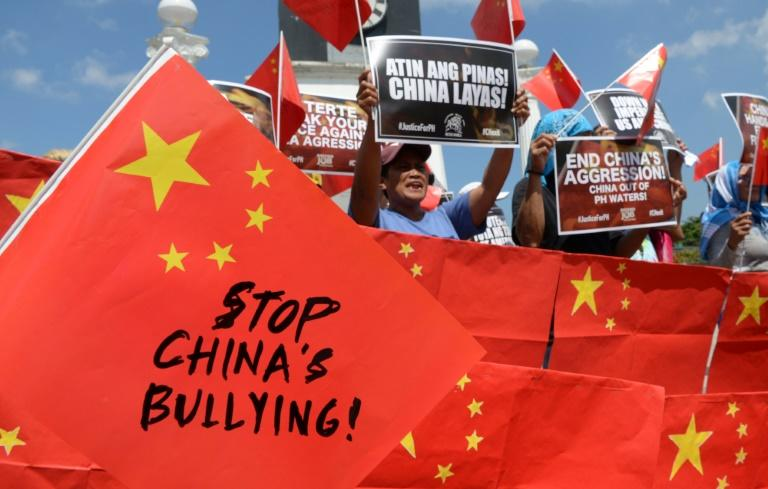 Rodrigo Duterte's presidency has been shaken by a string of small street protests, after a collision between a Philippine fishing boat and a Chinese trawler in contested waters